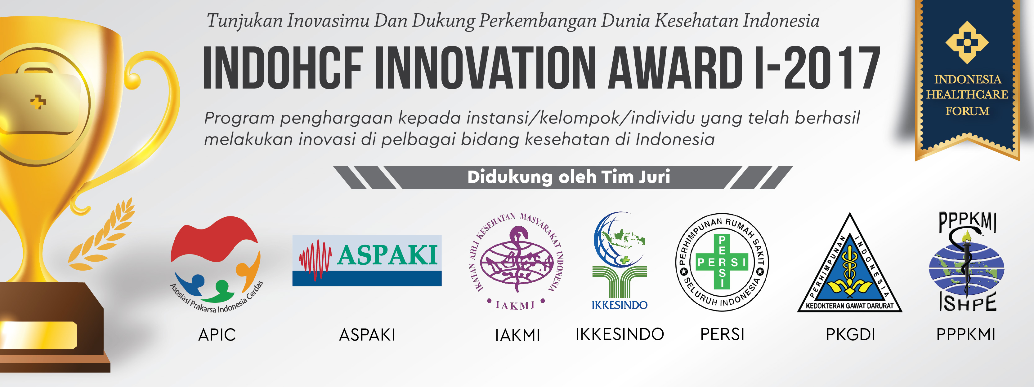 Tim Juri IndoHCF Innovation Award I-2017