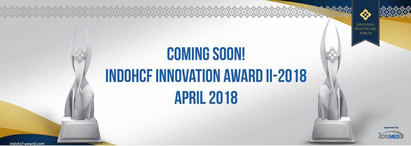 Coming soon IndoHCF Innovation Awards II - 2018