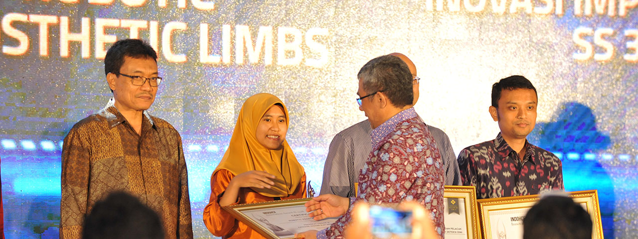 Pemenang IndoHCF Innovation Award II-2018