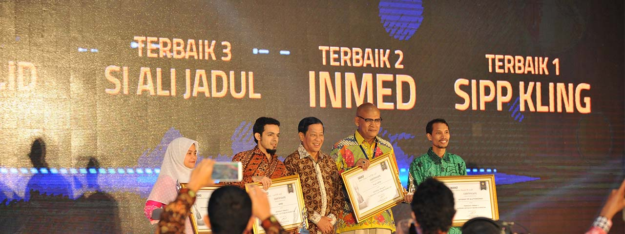 Pengumuman Juara IndoHCF Innovation Awards II-2018