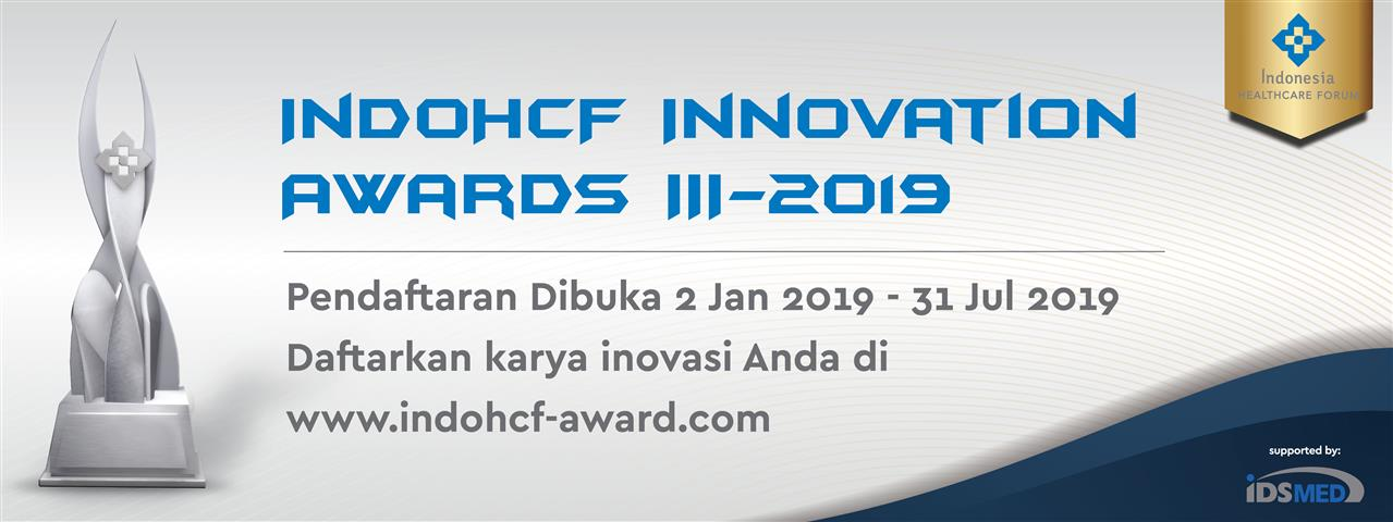 IndoHCF Innovation Awards III-2019